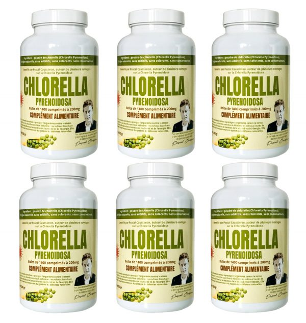 Pack de 6 boites de chlorella