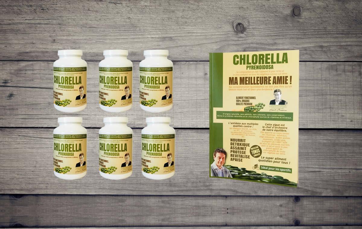 Livre chlorella offert